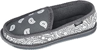 Trooper America Men's Bandana Print Slip On Slipper Shoe