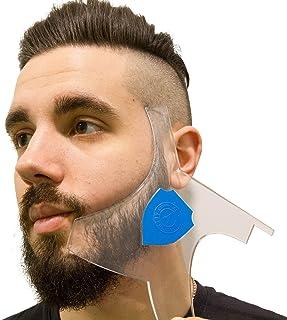 کیت ریش Aberlite Beard W / Pencil Pencil - ابزار شکل گیری حق بیمه - 100٪ پاک   سبک های زیادی   لبه های طولانی   - ابزار نهایی تنظیم ریش / مو (ثبت اختراع ایالات متحده) - طرح کلی راهنمای راهنمای استنسیل ریش