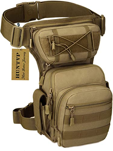 Hip Bag Angler sac Olive pochette sac de ceinture jambe-étui de ceinture multi poche
