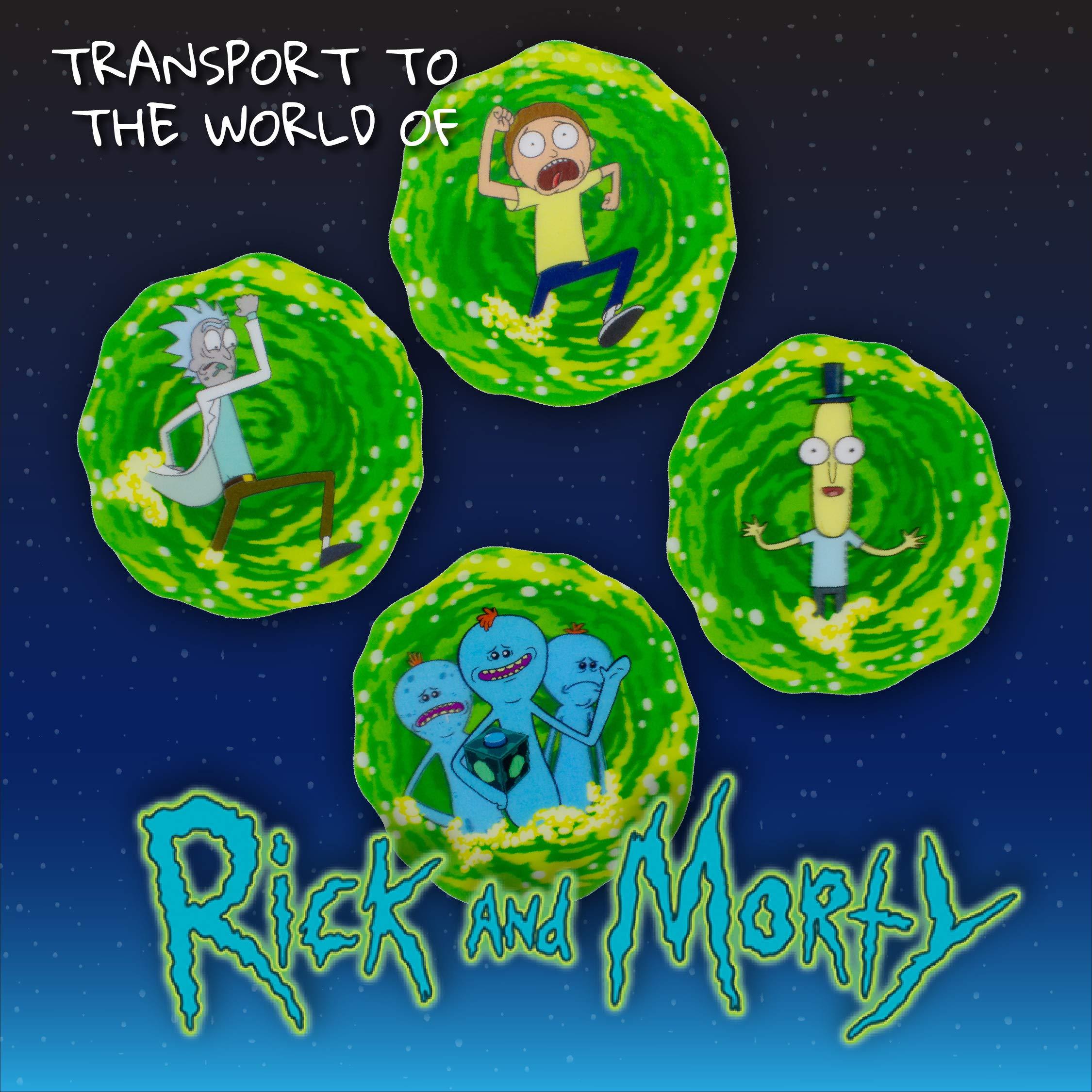 Rick and Morty TV Series Szechaun Sauce Peel Off Image Sticker Decal UNUSED