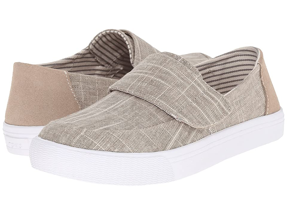 TOMS Altair Slip-On (Natural Metallic Linen) Women