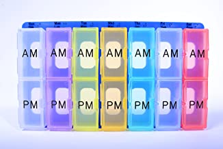 product image for Weekly 2- Compartment Tray Pack of 6 (Blue)