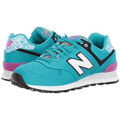 New Balance Classics WL574 Art School (Pisces/Poisonberry) Women