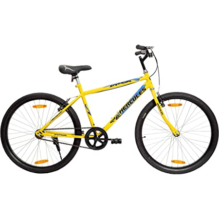Hercules Dynor RF 26T Single Speed Road Cycle (Ideal for : 12+ Years ,Brake : V Brake)
