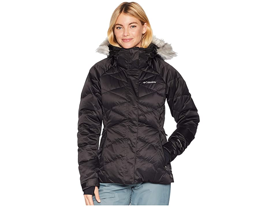 Columbia Lay D Downtm II Jacket (Black Satin) Women