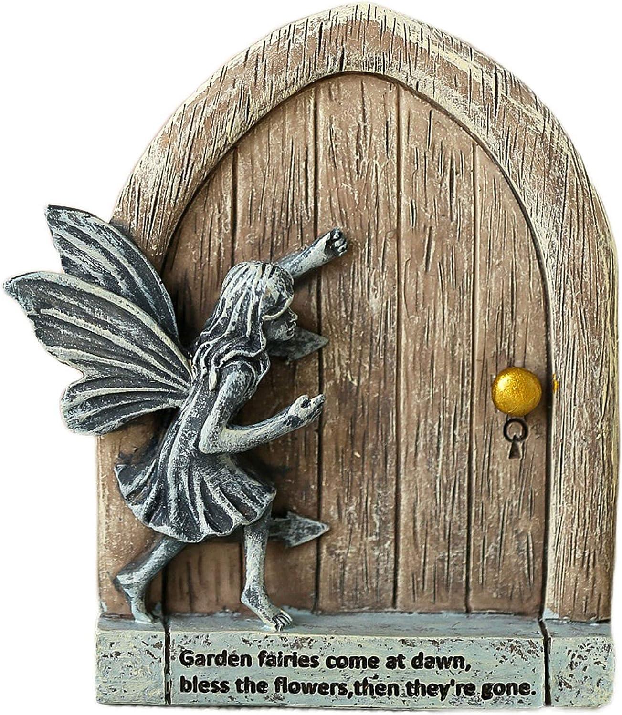 JIUMO Fairy Garden Sale Doors with for Miniature Fairies Weekly update