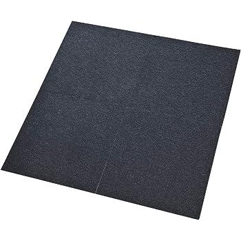 Comfort Teppichfliesen Nadelfilz rot selbstklebend 16m/²