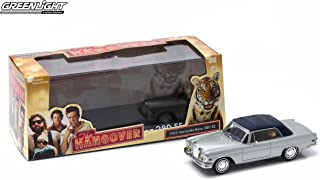 Greenlight 1969 Mercedes-Benz 280 SE Convertible & Tiger from The Classic Film The Hangover Hollywood 2015 Collectibles Limited Edition 1:43 Scale Die-Cast Vehicle & Custom Display Case