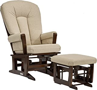 Dutailier Modern 0347 Glider chairwith Ottoman Included