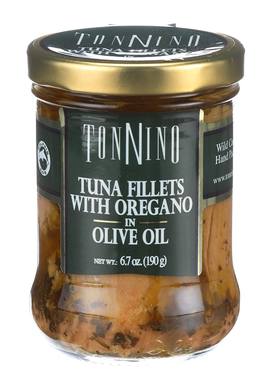 Tonnino Tuna Tuna Filet With Oregano Oil, 6.7 oz