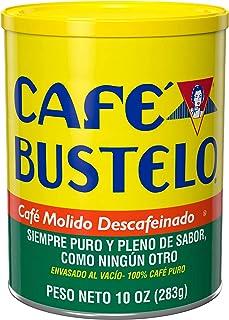 Café Bustelo Decaffeinated Medium Roast Ground Coffee, 10 Ounces (Pack of 12)