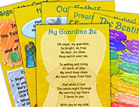 Prayer Posters - Our Father, Hail Mary, Beatitudes, Angels and More - Classroom Posters 12