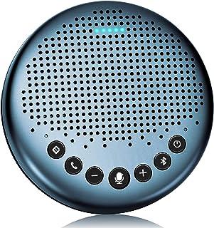 eMeet Luna Lite スピーカーフォン 会議用マイクスピーカー Bluetooth対応 Skype Zoom など対応 ノイズキャンセリング  VoiceIA技術 オンライン会議 テレワーク 在宅 会議用システム ウェブ会議 テレビ会...