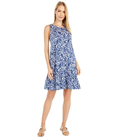 Lilly Pulitzer Kristen Flounce Dress (Oyster Bay Blue Krillin It) Women