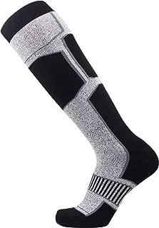 Pure Athlete Snowboard Socks for Men Wool - Comfortable Warm Skiing Snowboarding Sock Women,  Winter