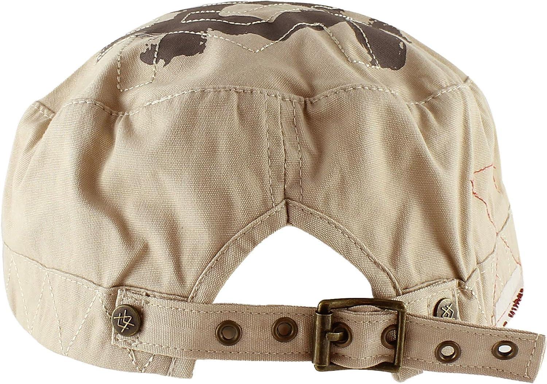 A. Kurtz Vintage Short Crown Army Cap Casual Baseball Cap Adjustable Hat