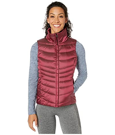 The North Face Aconcagua Vest II (Shiny Deep Garnet Red) Women