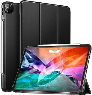 ZtotopCase Funda para iPad Pro 12.9 2020,Cubierta Trasera Smart Cover con Triple Soporte con Auto Reposo/Activación Funció...