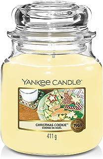 Yankee Candle Large 2-Wick Tumbler Candle, Cascading Snowberry Medium Jar 114504Z