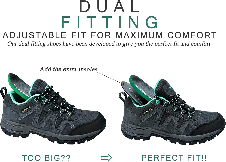 riemot Chaussures de Randonn/ée Basses Femme Homme Chaussure de Marche Trekking Montagne Sport Chaussures de Trail Running Ext/érieure Antid/érapant Semelle Impermeable L/ég/ères EU 36-46