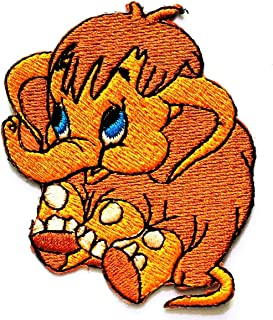 MONKEY BABY Iron On Patch Jungle Zoo Animals