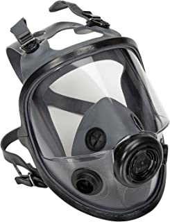 North by Honeywell 54001 5400 Series Low Maintenance Full Facepiece Respirators, Medium/Large