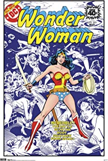 Trends International Wonder Woman-Cover Mount Wall Poster, 22.375