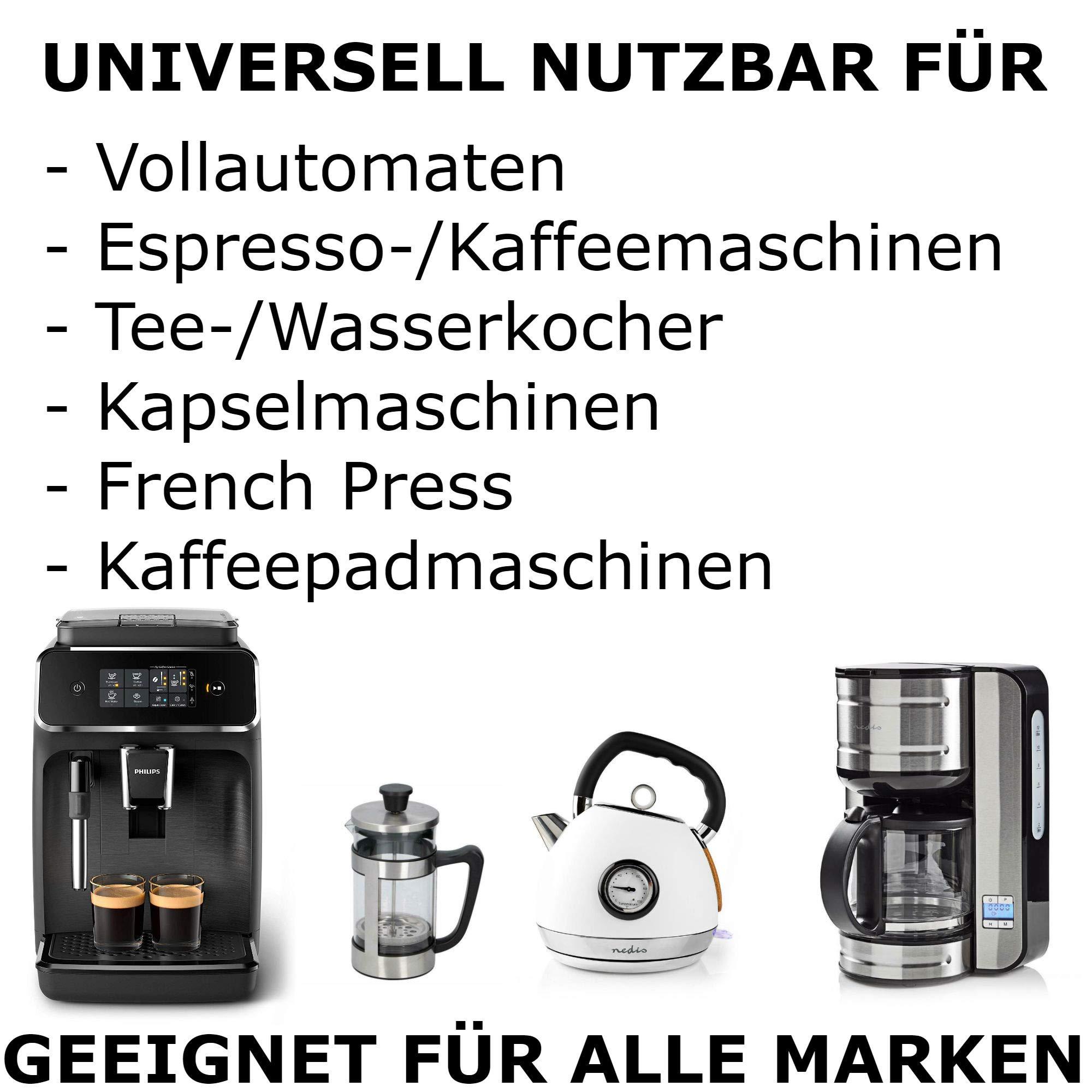 TronicXL - Descalcificador para cafeteras automáticas (2 L ...