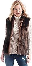 Fabulous Faux Fur Hook Vest, XS-3X, Donna Salyers