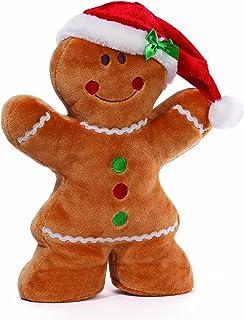 Gund Christmas 'Honey Bun' Girl Plush