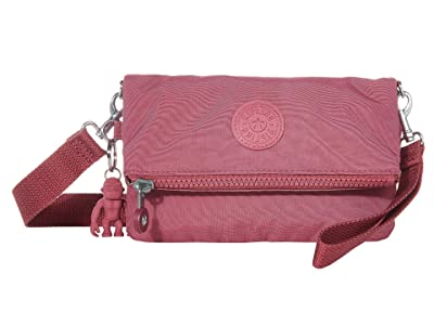 Kipling Lynne Convertible Crossbody Bag (Fig Purple) Handbags