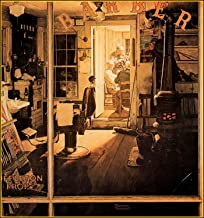 Books & Arts Museum _ Norman Rockwell: Shuffleton's Barbershop Art Print, Size 12 X 15 inches Included Border