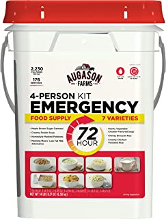 Augason Farms 72-Hour 4-Person Emergency Storage Food Kit