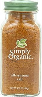 Simply Organic All-Seasons Salt, Certified Organic, 4.73 oz Container