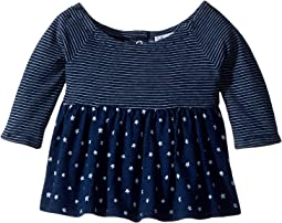 Always Indigo Mixed Top (Infant)