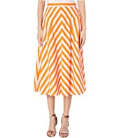Kate Spade New York - Deck Stripe Midi Skirt