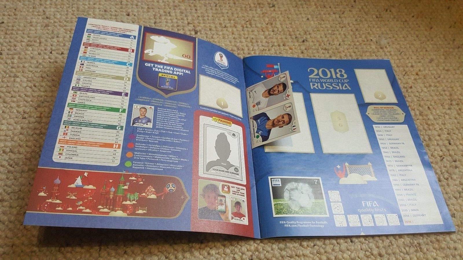 FIFA World Cup Russia 2018 - Álbum de fotos: Amazon.es: Juguetes y juegos