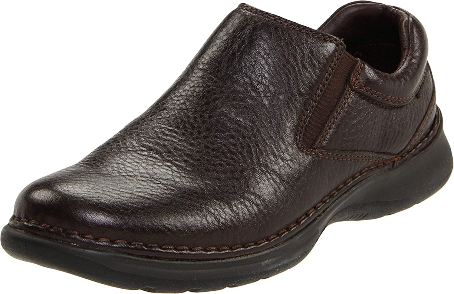 Hush Puppies Men's Lunar II Slip-On,Dark Marronee,10.5 W US
