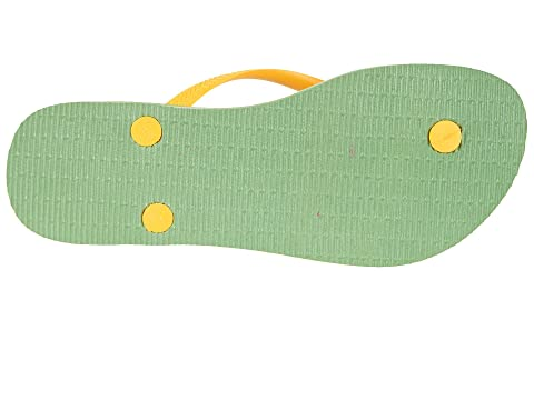 Discount Wholesale Price Havaianas Slim Brazil Flip-Flops Green Online Shop cMqRoW5LQ