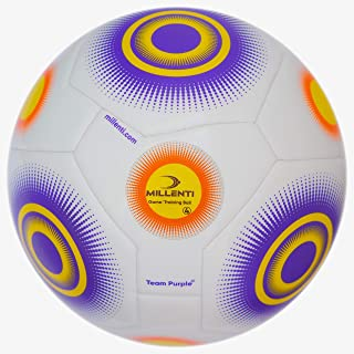 Millenti Youth Soccer Ball Size 4 - Team Soft Balls for Kids