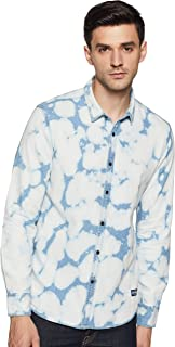 Flying Machine Men's Starred Regular fit Casual Shirt