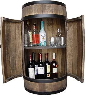 weeco Barril de Bar con Puerta, Hechas a Mano. Barril Bar