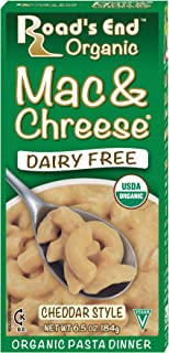 Road's End Organic Mac & Chreese, Organic, 6.5 Ounce Boxes (Pack of 12)