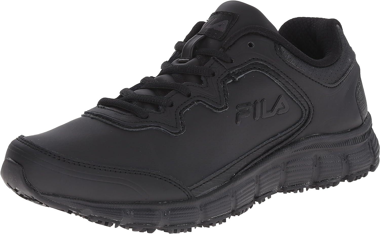 Fila Women's Memory Fresh Start Slip Resistant Work shoes