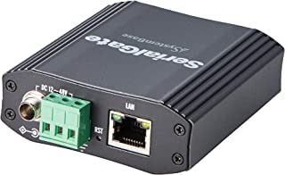 SystemBase - Serial(RS232/422/485) to Ethernet 1Port Industrial Grade Device Server, DB9 Male Connector, Supports Modbus R...