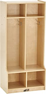 wooden lockers for home