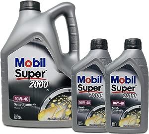 Mobil Super 2000 10W-40  Pack LTS