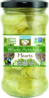 More Than Fair Whole Artichoke Hearts, 9.8 Ounce Jar