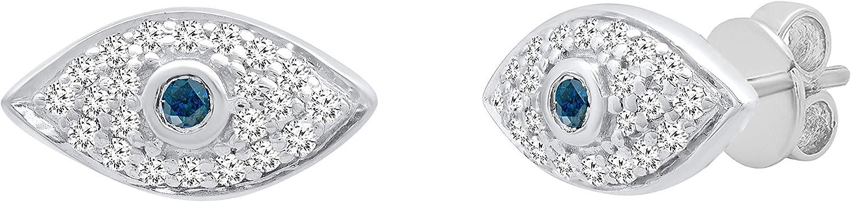 Dazzlingrock Collection Round Gemstone High order Diamond Super sale period limited Ladies Ev White