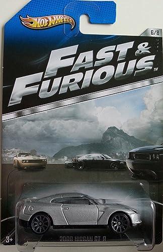 Hot Wheels Spielzeugauto 'Fast & Furious - 2009 Nissan GT-R [6 8]' - Limitierte Auflage 2013
